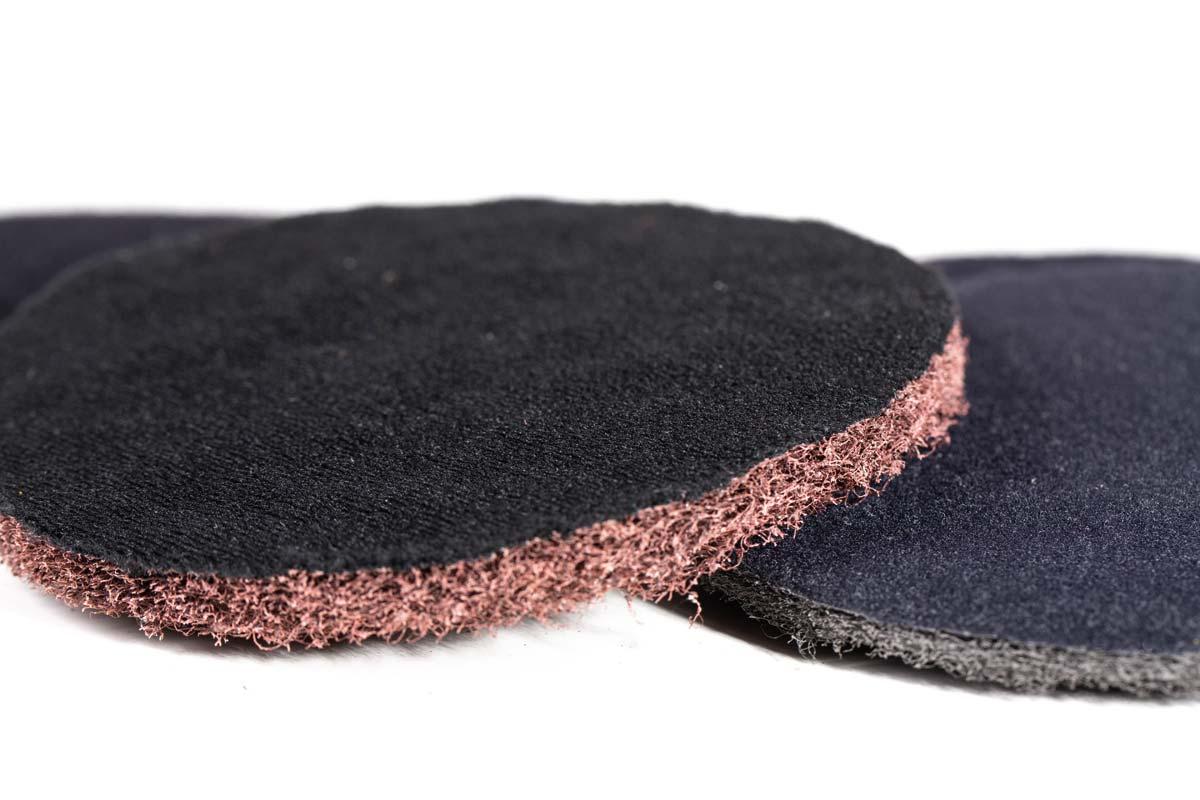 Velcroed TRINYL discs