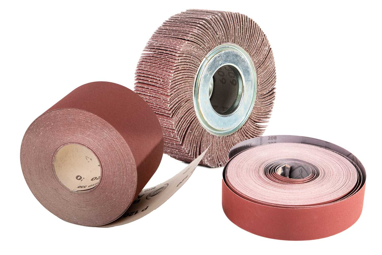 Abrasive papers and cloth